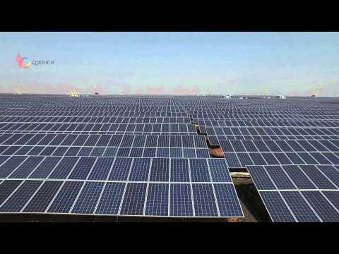 Welspun Solar panel Installation, MP