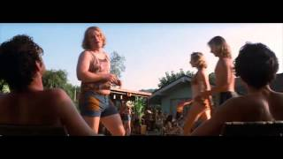Philip Seymour Hoffman Boogie Nights pool party entrance
