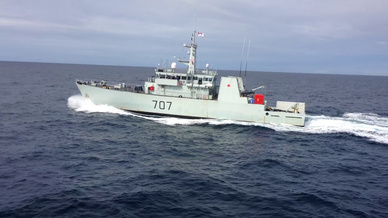 Canadian Navy taking part in NATO exercise