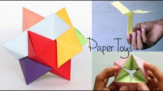 DIY Toys Made Of Paper | Tutorial for Kids | Paper Craft | Ventuno Art