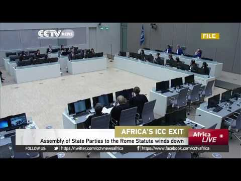 Assembly of State Parties to the Rome Statute winds down