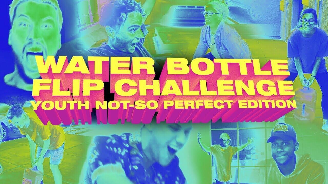 Water Bottle Flip Challenge | Elevation Youth