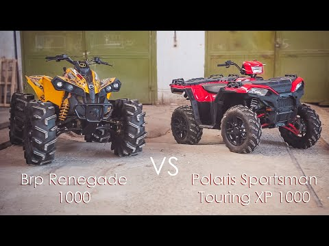 Обзор Brp Renegade 1000 VS Polaris Sportsman Touring XP 1000