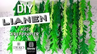 DIY: gigantischer Lianen-Wald aus Krepppapier [How to] Deko-Kitchen in Kooperation* mit Werola