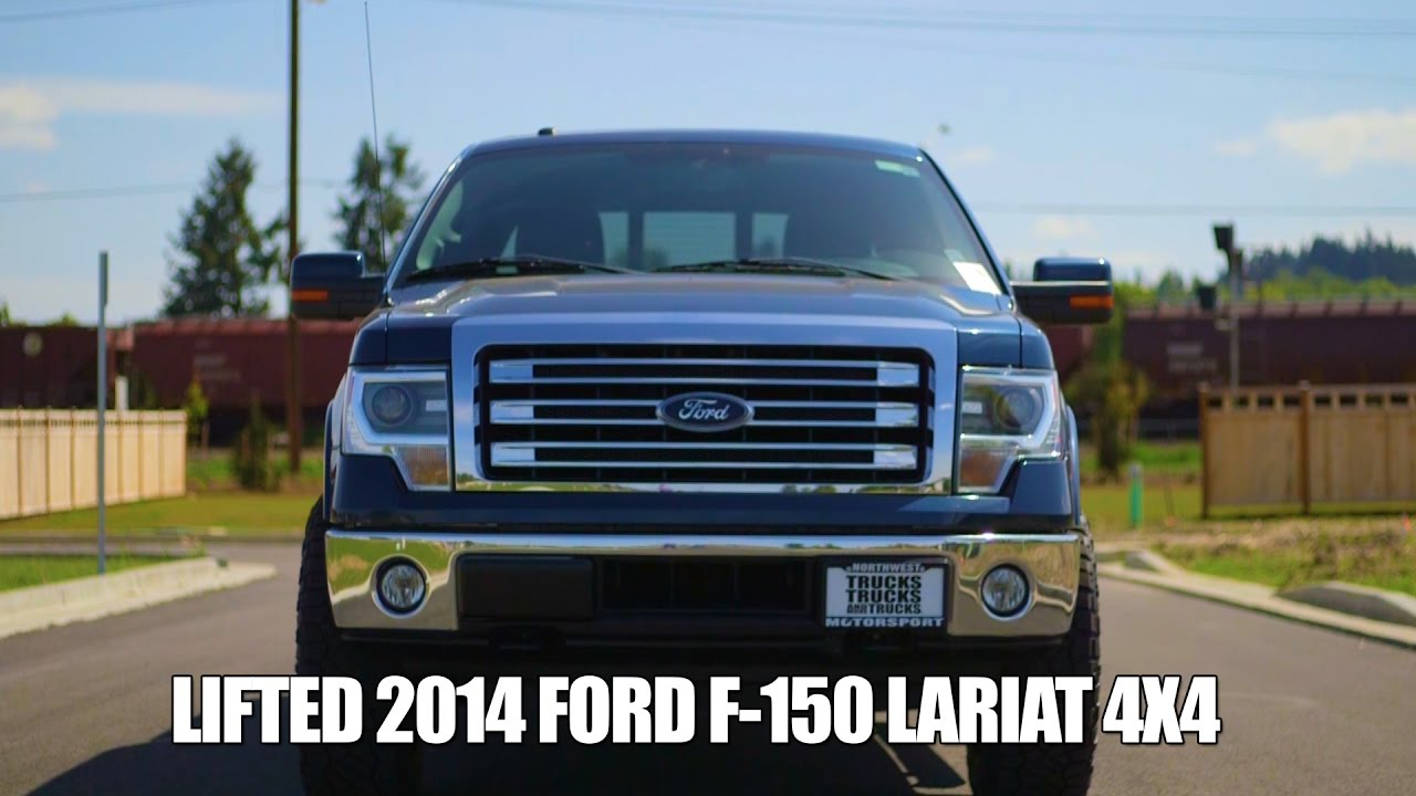 LIFTED 2014 FORD F 150 LARIAT 4X4