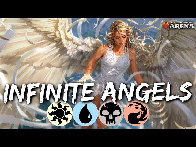 ANGELS ETERNAL [MTG Arena]   Infinite Life Gain & Loss Combo