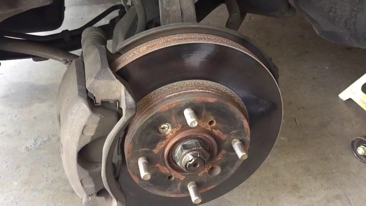 Rotor Thickness Check For 2001 Honda Accord