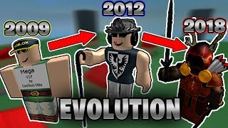 EVOLUTION of the RICHEST ROBLOX Player! (My Avatar: 2008-2018) - Linkmon99 ROBLOX