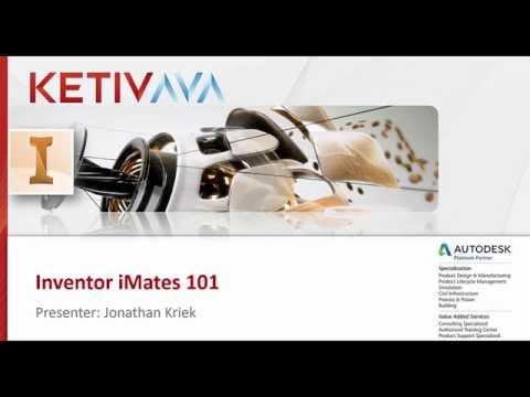 Autodesk Virtual Academy: Inventor iMates 101