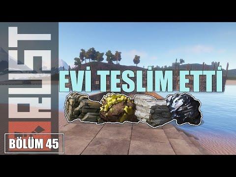 Ev Patlatma//Adam evi teslim etti//Rust Multiplayer Türkçe #45