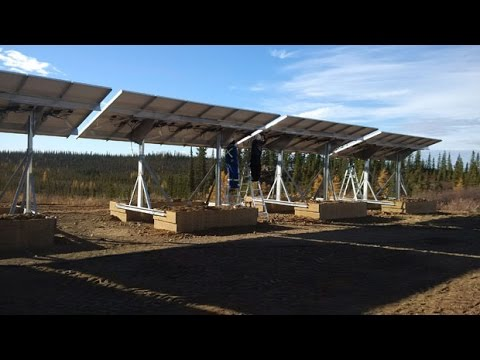 Remote off-grid community goes solar