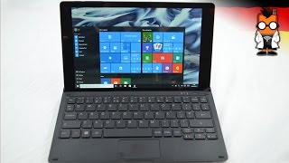 Alcatel Plus 10 Windows Tablet im Hands On [Deutsch - German]