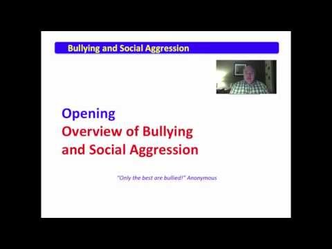 1 Bullying and Social AgressionAn Introduction