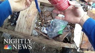 Body Camera Shows Baltimore Police Officer Allegedly Planting Evidence | NBC Nightly News