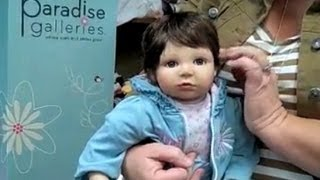 "Where Smiles Grow - Lifelike Baby Doll With Real ""Baby"" Feel"