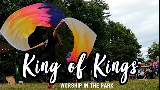 Worship Moment Dance with Flags - King of Kings - Mill Lake Abbotsford ft: Claire CALLED TO FLAG