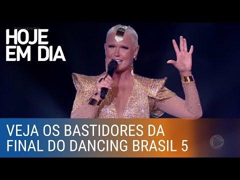 Confira os bastidores da final do Dancing Brasil 5