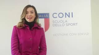 """Silvia Salis al """"Corso Nazionale per Tecnici di IV Livello Europeo"""""""