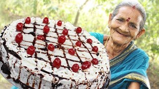 Black Forest Cake Recipe by My Grandma || Myna Street Food