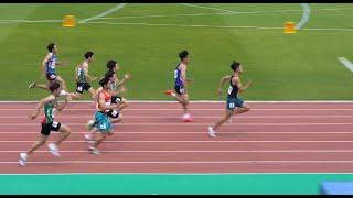남자 고등학교 100m 예선기록이 10초54 ! - 전…