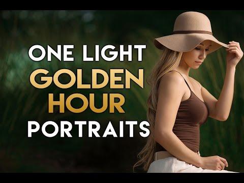 One Light High Speed Sync (HSS) Portraits w/ the XPLOR 600 & Canon 6D + 135L