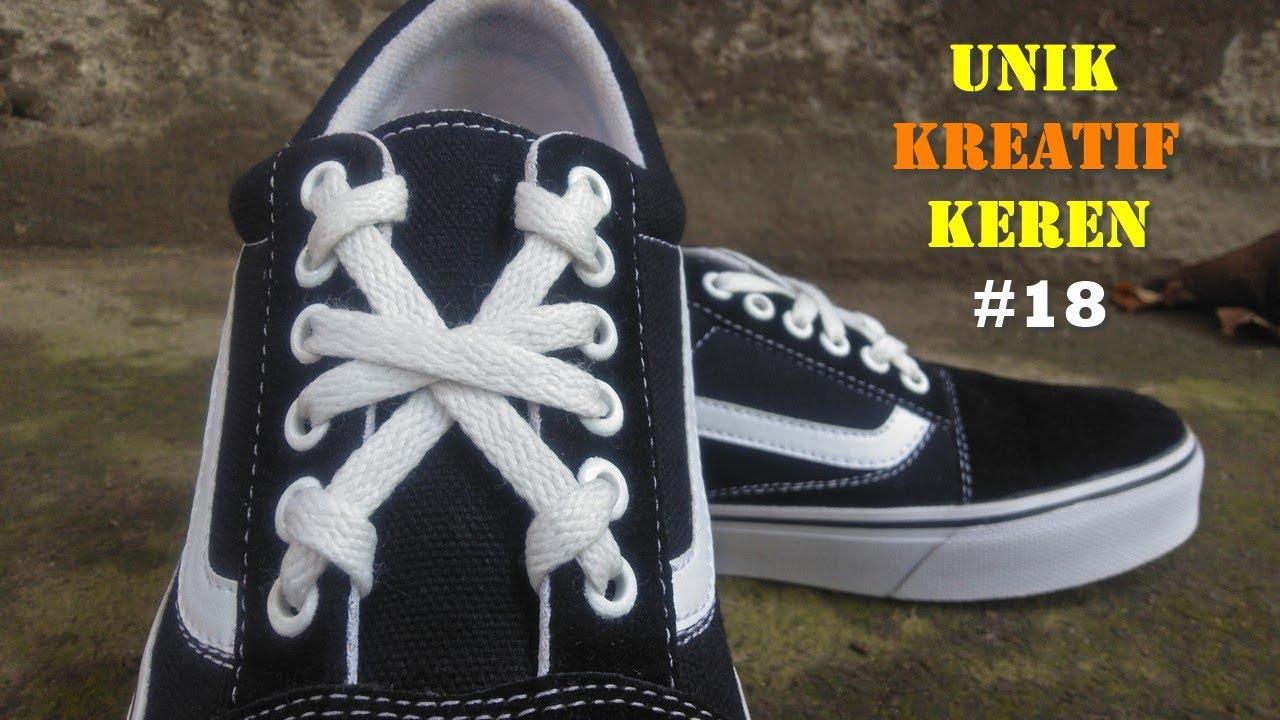 Unik, Kreatif dan Keren Cara Mengikat Tali Sepatu #18