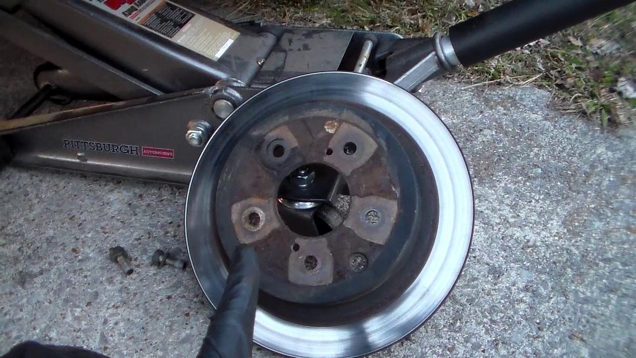 Worn Rotors