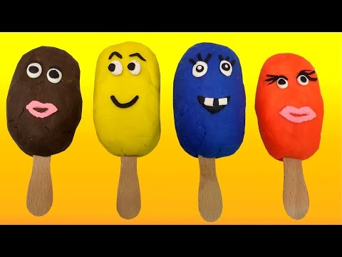 Thumbnail: Play-Doh Surprise Eggs Ice Cream SpongeBob Mickey Mouse Hello Kitty Minions