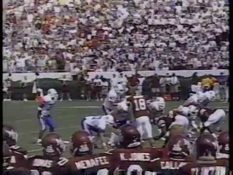 Eric Brown hit on Tim Couch