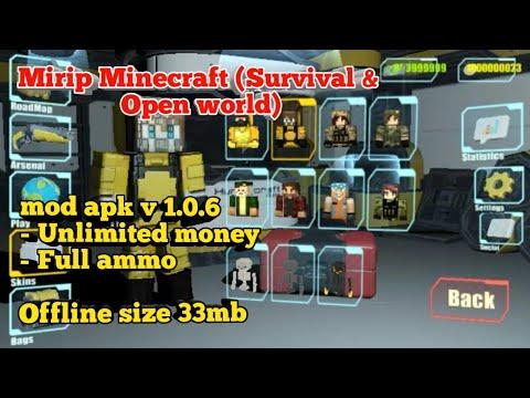 Hunter craft mod apk v 1.0.6 game android mirip Minecraft ...