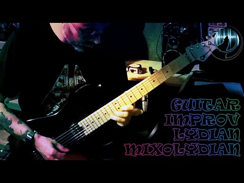 Guitar Improvisation With Lydian & Mixolydian