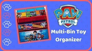 Paw Patrol Toy Organizer