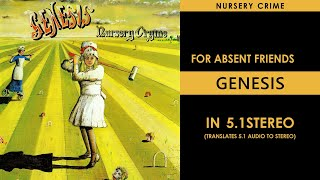 Genesis - For Absent Friends - 5.1Stereo