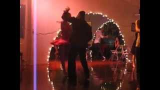 Salsa Dancing Performance Improvisation 2012 3rd Street Club Los Angeles