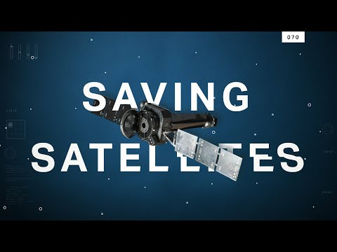 How robots will repair or destroy satellites in orbit