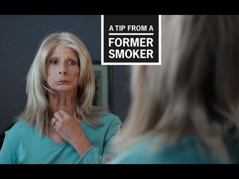 CDC: Tips From Former Smokers  Terrie's Tip Ad