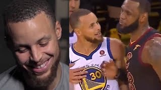 """Curry On His Biggest """"Fights"""" In The NBA And Latest Feud With LeBron"""