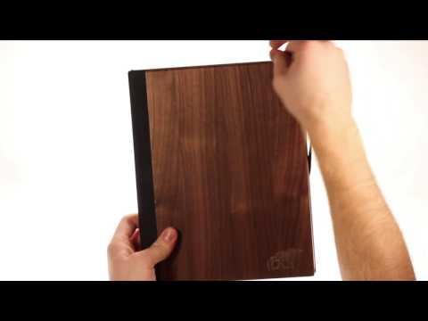 Walnut iPad Case by Root Cases
