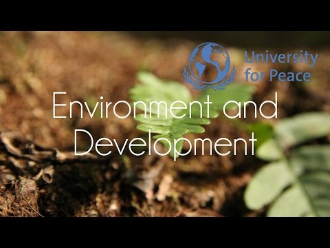 Master´s in Environment and Development | University for Peace