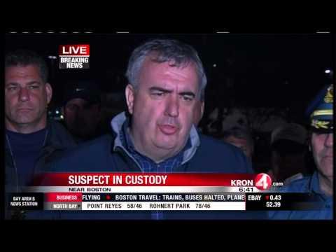 Raw Video - News Conference Announcing Capture of Boston Marathon Bombing Suspect