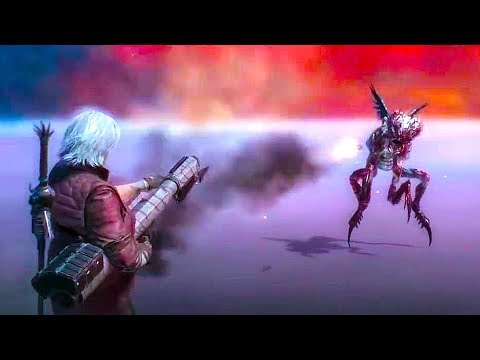 DEVIL MAY CRY 5 - NEW Gameplay Dante Weapons & Boss Fight (NYCC 2018)