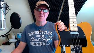 FENDER SQUIER AFFINITY TELE REVIEW - with video sound clips