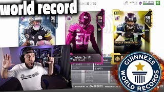 93 OVERALL DRAFT!! THE BEST DRAFT EVER - Madden 19 Draft Champions Gameplay