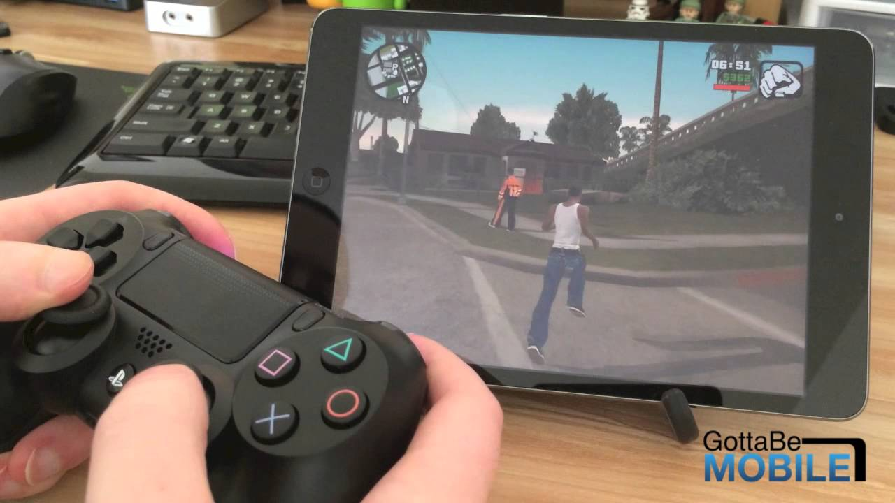 How To Use A Ps4 Controller On The Ipad Youtube