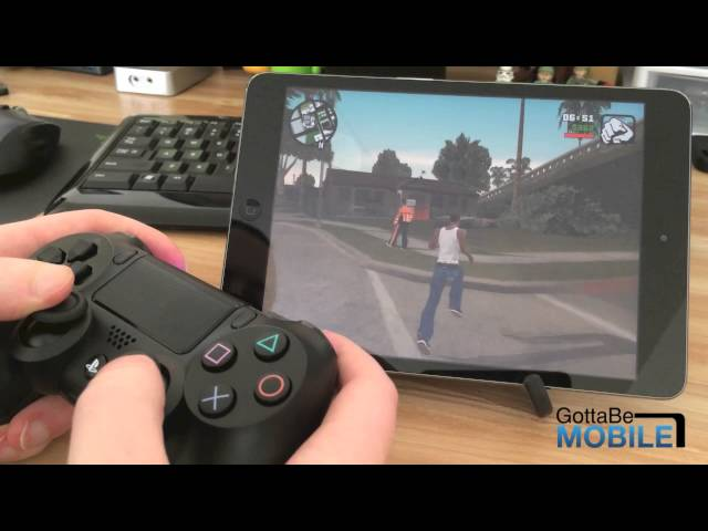 connecting a ps4 controller to ipad