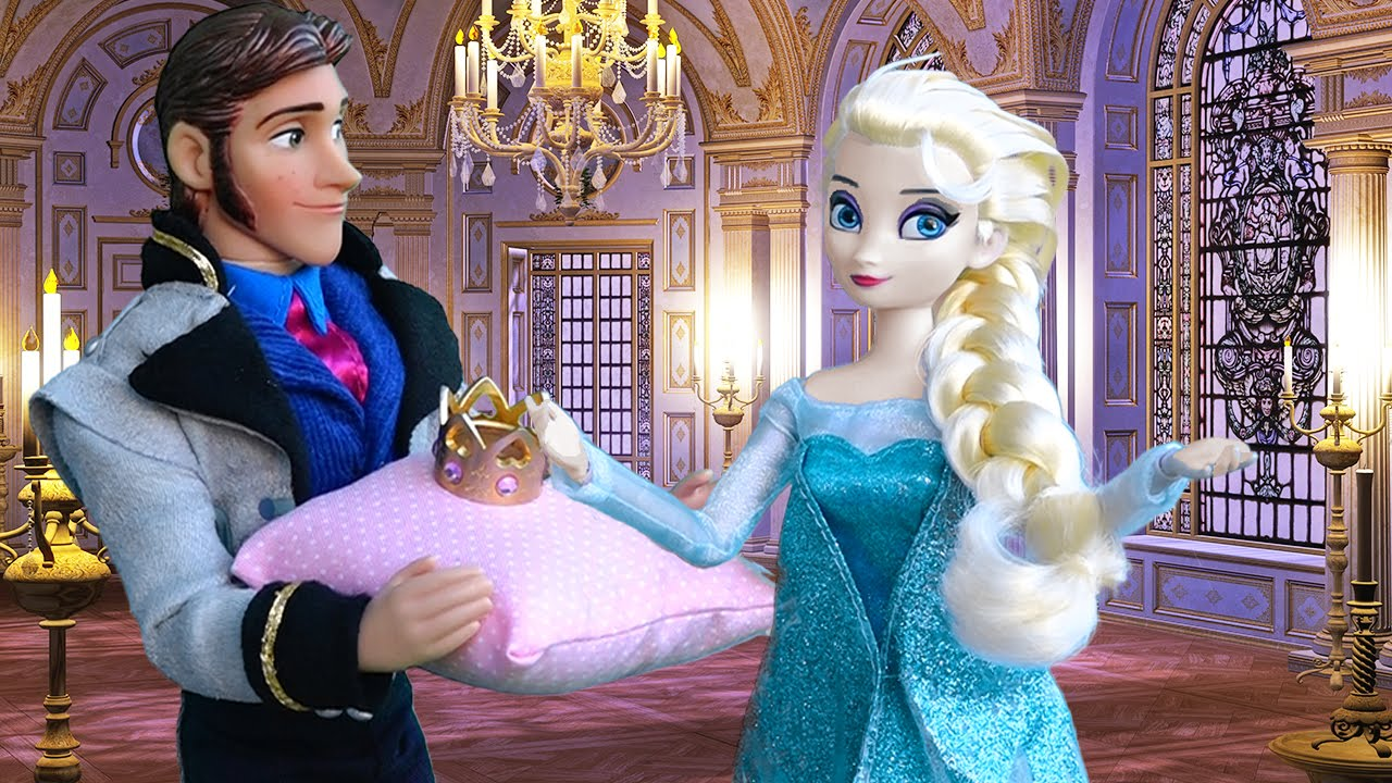 elsa wants anna amp kristoff to break up toys and dolls