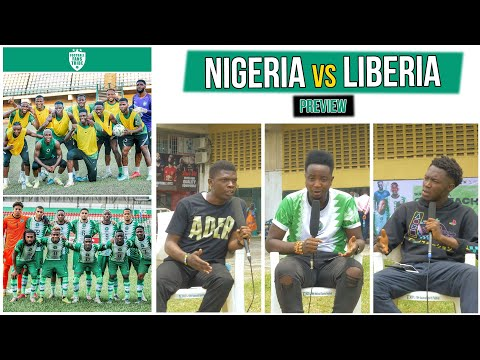 NIGERIA VS LIBERIA  2022 WORLD CUP QUALIFIER(PREVIEW) with Kuortams & Olamide