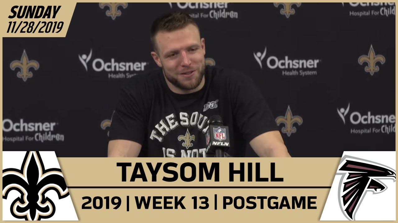 Taysom Hill Postgame Reactions After Win vs Falcons in Week 13 | New Orleans Saints Football