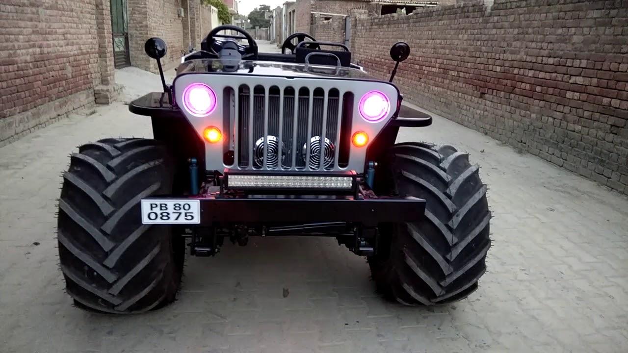 Kulwinder Motors Works Open Jeep Modified Mandi Dabwali Punjab