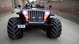 KULWINDER MOTORS WORKS Open Jeep modified mandi dabwali punjab 9781265812 contact no whatsapp no